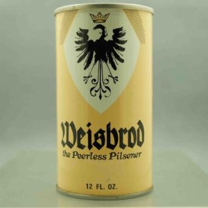 weisbrod 134-8 pull tab beer can 1