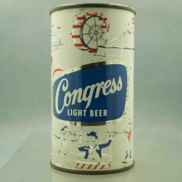 congress 50-49 flat top beer can 1