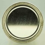 silver cream 134-13 flat top beer can 5