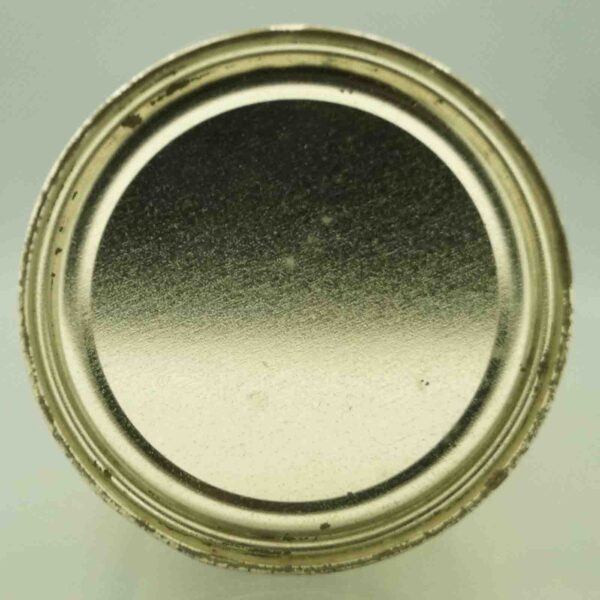 silver cream 134-13 flat top beer can 6