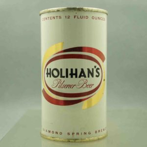 holihans 83-3 flat top beer can 1