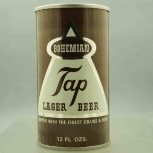 bohemian 44-32 pull tab beer can 1