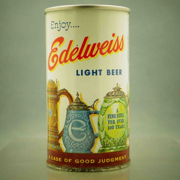 edelweiss 61-14 pull tab beer can 1