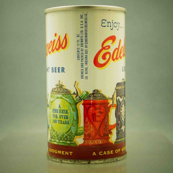 edelweiss 61-14 pull tab beer can 2