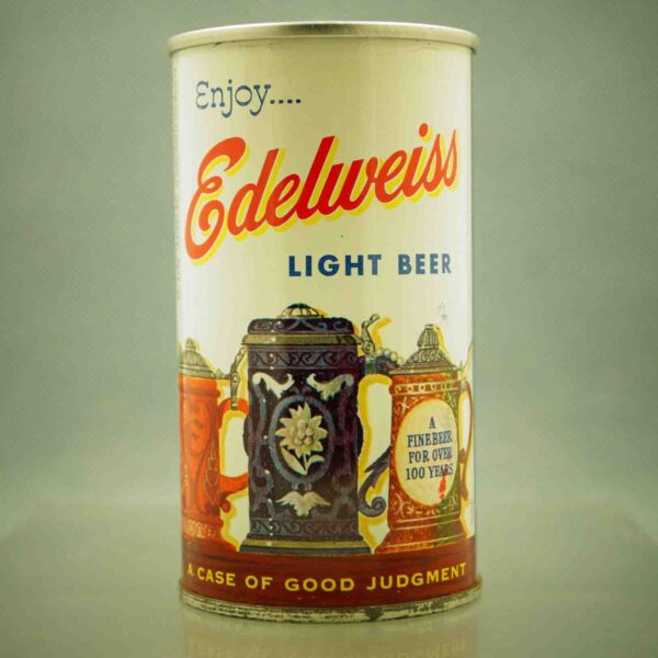 edelweiss 61-14 pull tab beer can 3