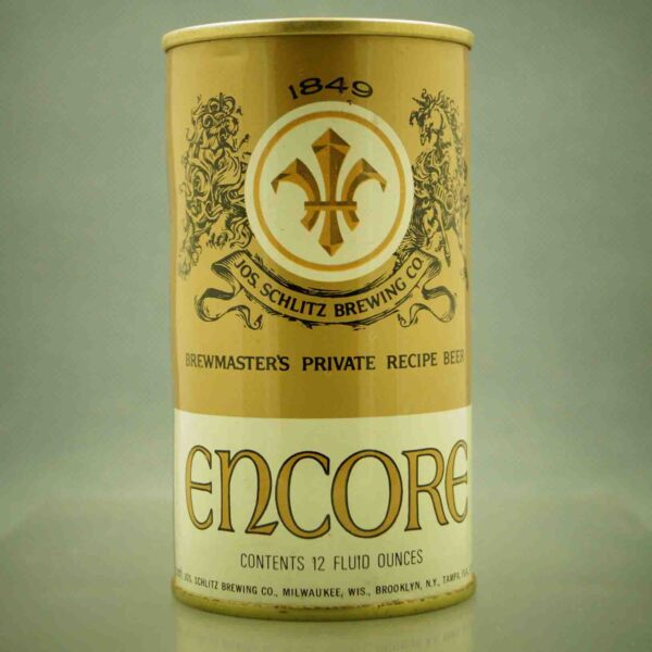 encore 61-39 pull tab beer can 1