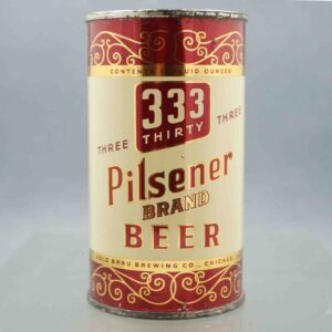 thirty three 138-30 flat top beer can 1