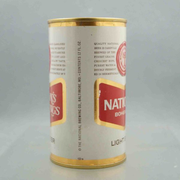 national bohemian 97-3 flat top beer can 2