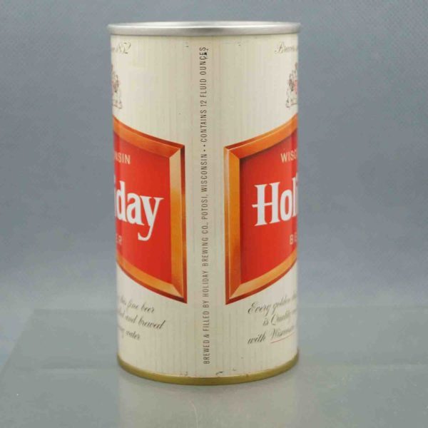 holiday 76-32 pull tab beer can 2