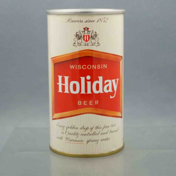 holiday 76-32 pull tab beer can 3