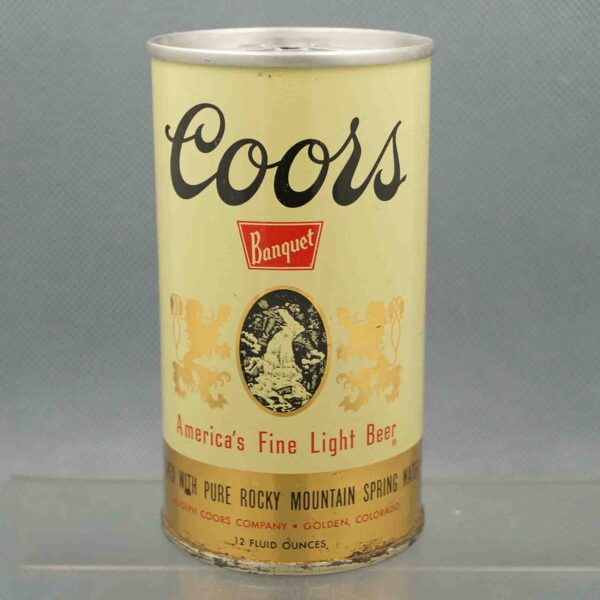 coors 57-3 pull tab beer can 1