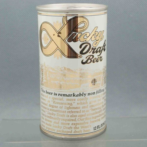 lucky 89-32 pull tab beer can 1