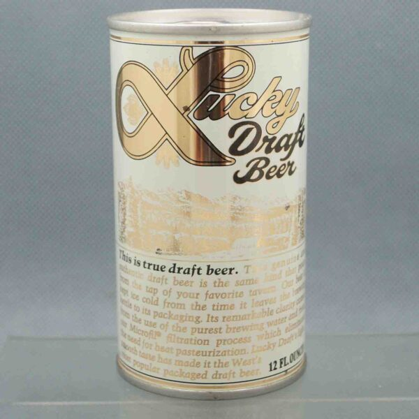 lucky 89-32 pull tab beer can 3