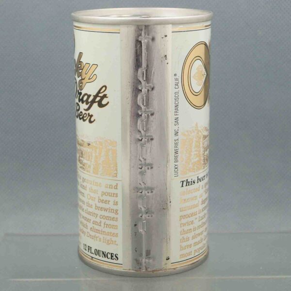 lucky 89-32 pull tab beer can 4