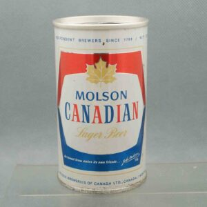 molson pull tab beer can 1