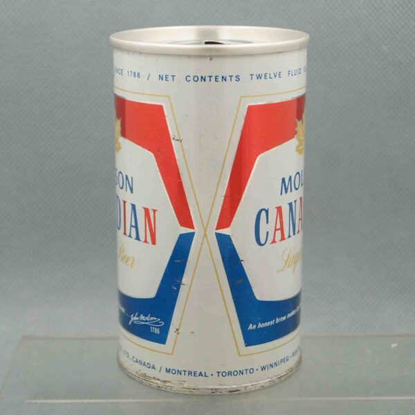 molson pull tab beer can 2