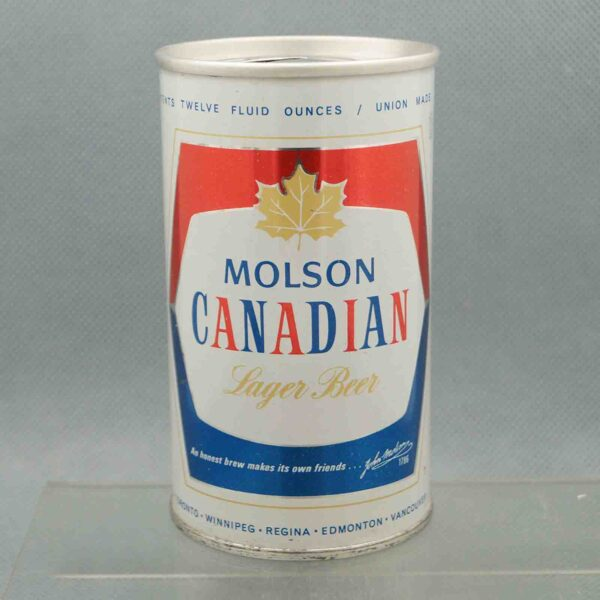 molson pull tab beer can 3