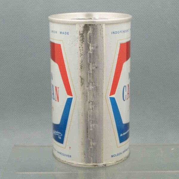 molson pull tab beer can 4