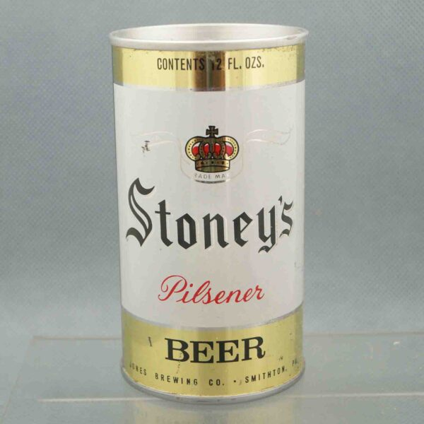 stoneys 128-5 pull tab beer can 1