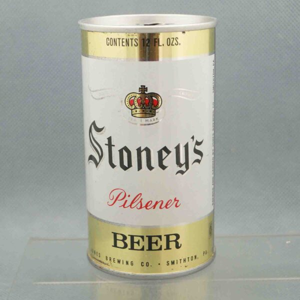 stoneys 128-5 pull tab beer can 3