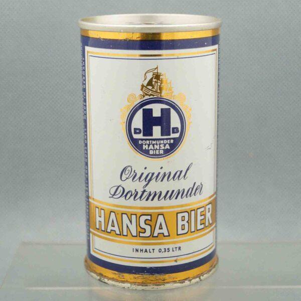 hansa pull tab beer can 1