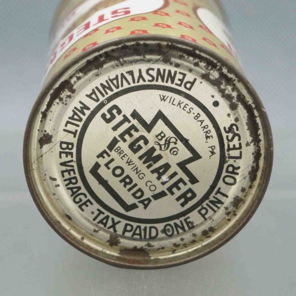 stegmaier 136-6 flat top beer can 5
