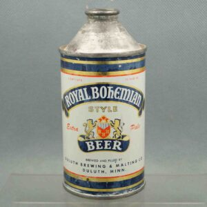 royal bohemian 182-23 cone top beer can 1