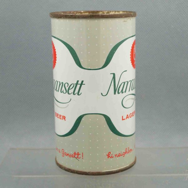 narragansett 101-30 flat top beer can 2