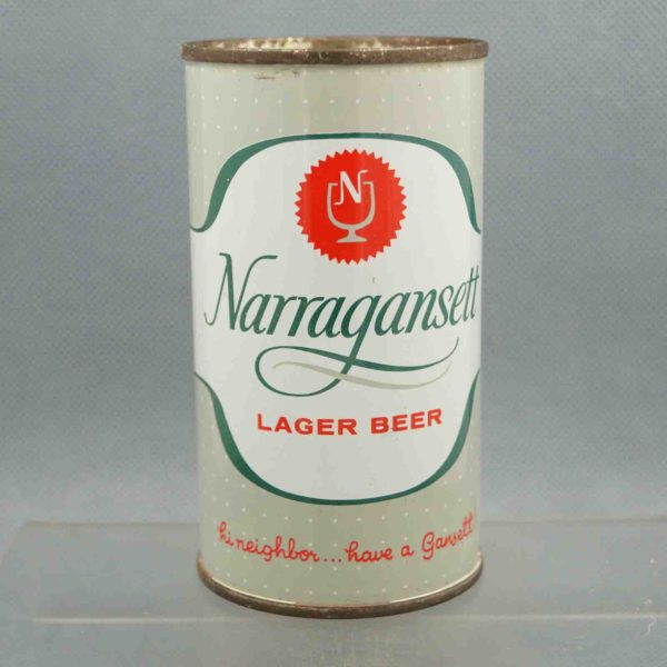 narragansett 101-30 flat top beer can 3