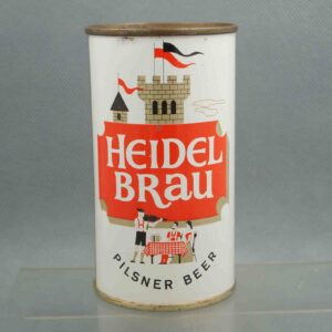 heidel brau 81-3 flat top beer can 1