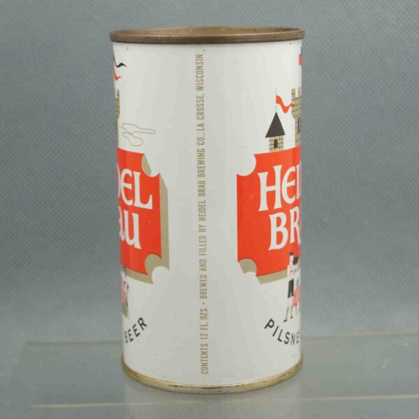 heidel brau 81-3 flat top beer can 2