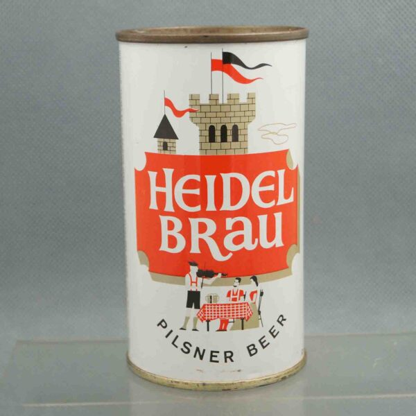 heidel brau 81-3 flat top beer can 3
