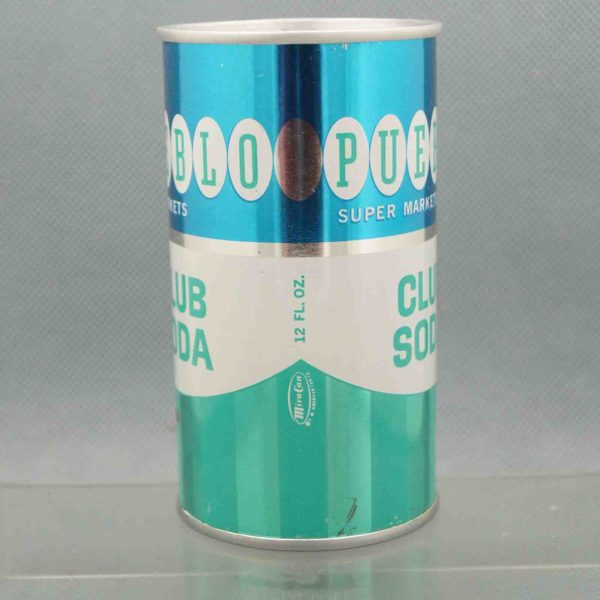 pueblo club soda pull tab soda can 2