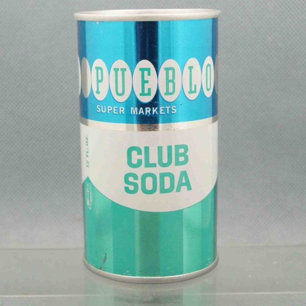 pueblo club soda pull tab soda can 3