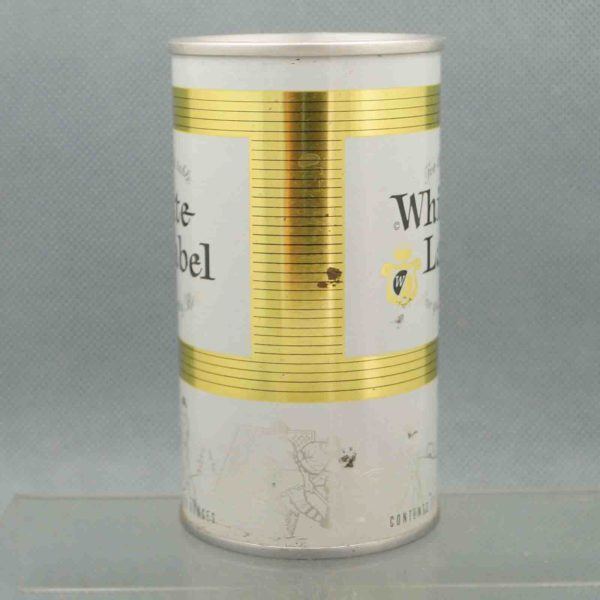 white label 134-25 pull tab beer can 2