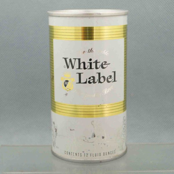 white label 134-25 pull tab beer can 3