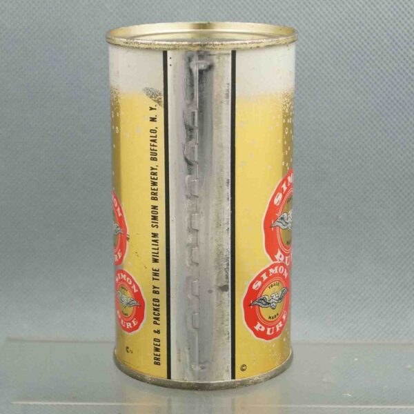 simon pure 134-23 flat top beer can 3