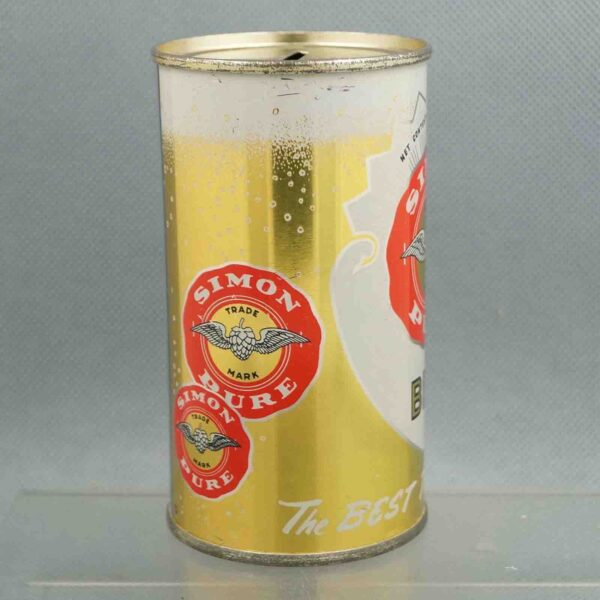 simon pure 134-23 flat top beer can 4