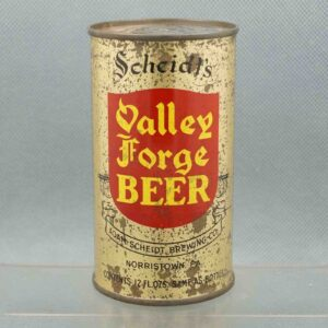 valley forge 142-34 flat top beer can 1