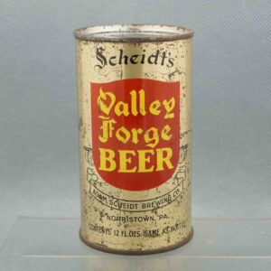 valley forge 142-34 flat top beercan 1