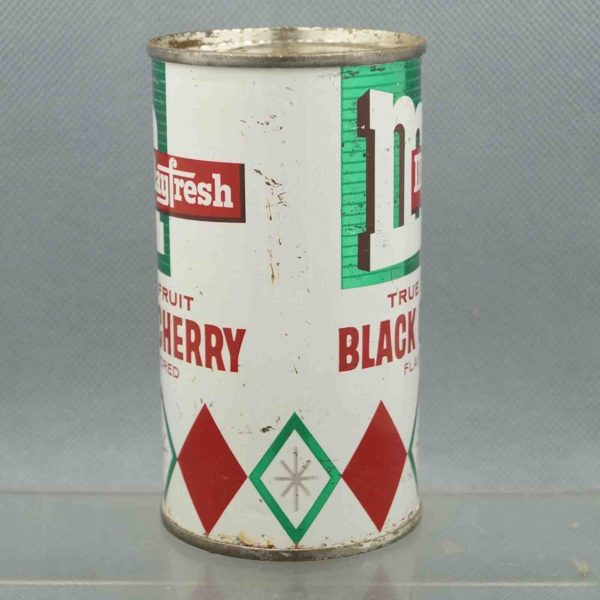 mayfresh black cherry m240-1 flat top soda can 2