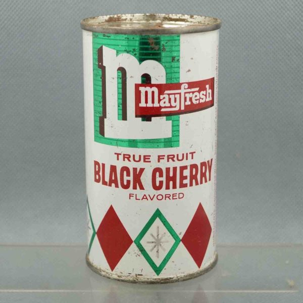 mayfresh black cherry m240-1 flat top soda can 3