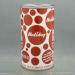 holiday root beer h580-8 pull tab soda can 2