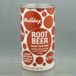 holiday root beer h580-8 pull tab soda can 3