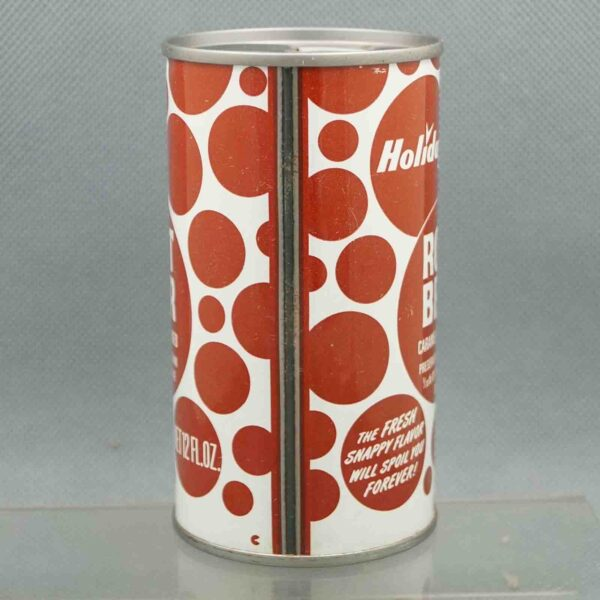 holiday root beer h580-8 pull tab soda can 4