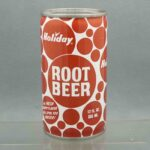 holiday root beer h580-8 pull tab sodacan 1