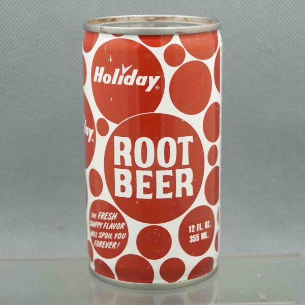 holiday root beer h580-8 pull tab sodacan 3