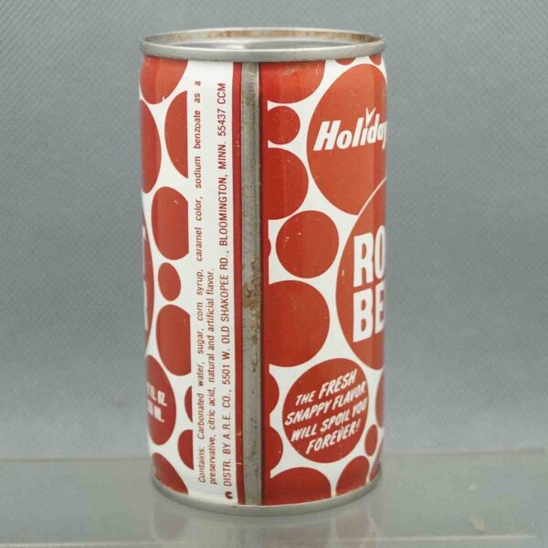 holiday root beer h580-8 pull tab sodacan 4