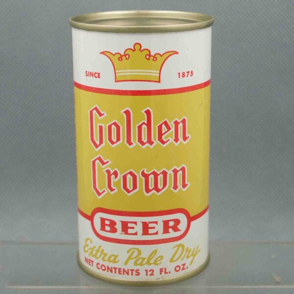 golden crown 72-35 flat top beer can 1