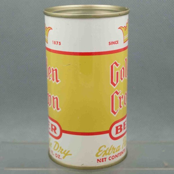 golden crown 72-35 flat top beer can 2